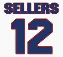 National baseball player Justin Sellers jersey 12 by imsport