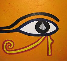 Eye of Horus by Trevor Armstrong