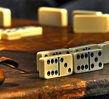 Dominoes Anyone? by Andreas Mueller