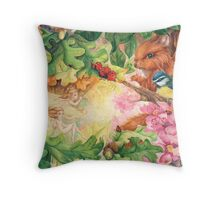 Spring Calling Throw Pillow