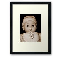 Baby Doll Framed Print
