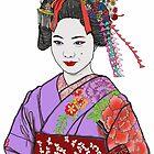 Kyoto geisha by Lozenga