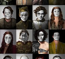 Game of Thrones War Print, Collection 1 by HilaryHeffron