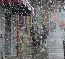 Main Street Snowfall by Marc McDonald