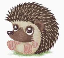 Round hedgehog by Toru Sanogawa