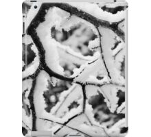 Branching Out in Black & White iPad Case/Skin