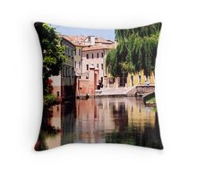 Treviso,Italy Throw Pillow