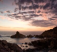 Canal Rocks Sunset by Chris Putnam