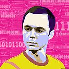 Sheldon Cooper Pop Art by ibadishi
