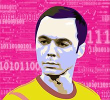 Sheldon Cooper Pop Art by ibadishi