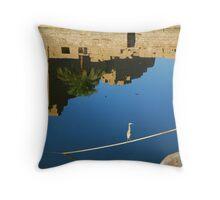 Sacred Lake Throw Pillow
