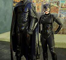 Batman & Catwoman. by Aussiebluey