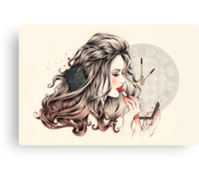 Rouge Passion (The 5 minute Make Up!) Canvas Print