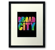 Broad City Framed Print