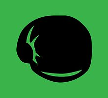 Punch-Out!! Symbol - Super Smash Bros. (black) by hopperograss