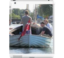Afternoon on the Canal iPad Case/Skin
