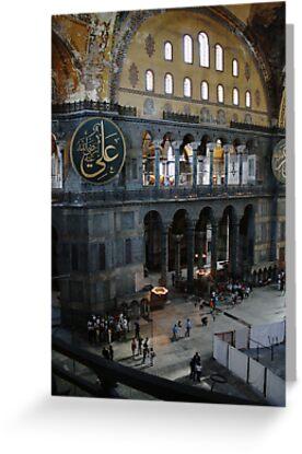 Hagia Sophia: Gallery View by Josh Wentz