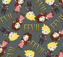 Final Fantasy 7 Pattern by Aiysle