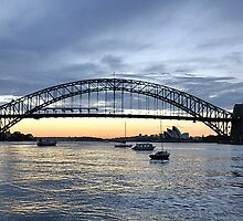 The Coat Hanger - Sydney Harbour Bridge, Sydney Australia by Philip Johnson