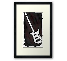 Still got my guitar, look out now Framed Print