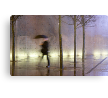 Passage of time in a concrete jungle  Metal Print