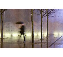 Passage of time in a concrete jungle  Photographic Print
