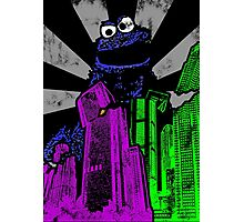 Cookie Monster Rampage! Photographic Print