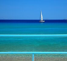 Shades of blue - Kos island by Hercules Milas