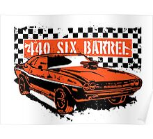 Dodge Challenger 440 Limited Edition Poster
