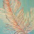 Watercolour: Feathers by Marion Chapman