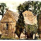 St Nicholas Church, Studland, Swanage, England - all products except duvet by Dennis Melling
