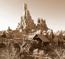 Big Thunder Mountain Railroad by Anita Kovacevic