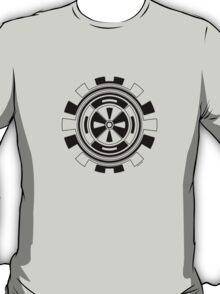 Mandala 11 Back In Black T-Shirt