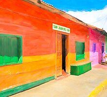 Vibrant Tropical Colors Of Nicaragua - San Juan del Sur by Mark Tisdale