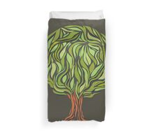 Illusion  tree Duvet Cover