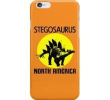 STEGOSAURUS iPhone Case/Skin