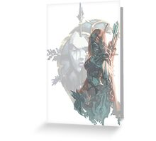 Sylvanas - Queen of the Undeads Greeting Card