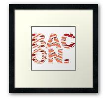 Bacon t-shirt Framed Print