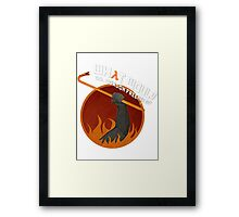 What would Dr. Gordon Freeman do? Framed Print