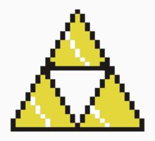8 Bit Triforce pixel by salodelyma