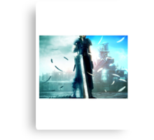 Final fantasy VII- Zack and Cloud Canvas Print
