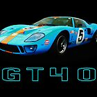 GT40 - Le Mans by Mark Wilson