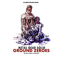 Ground Zeroes Poster Photographic Print