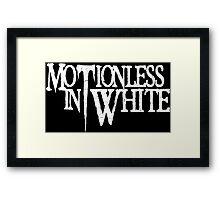 MOTIONLESS IN WHITE Framed Print