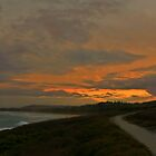Walking along Woolgoolga Headland at dusk by myraj