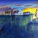 Venice Dawn by WILT