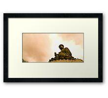 Buddha's Blessing Framed Print