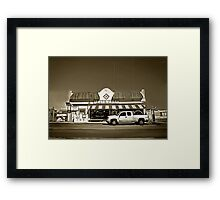Quintessential American Mid West Framed Print
