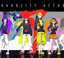 Mekakucity Actors Color by Revoltec17