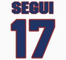 National baseball player Diego Segui jersey 17 by imsport